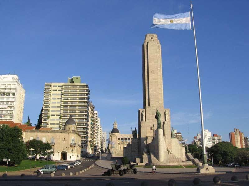 monumento a la bandera de argentina