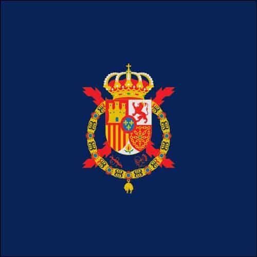 Estandarte del Rey Juan Carlos