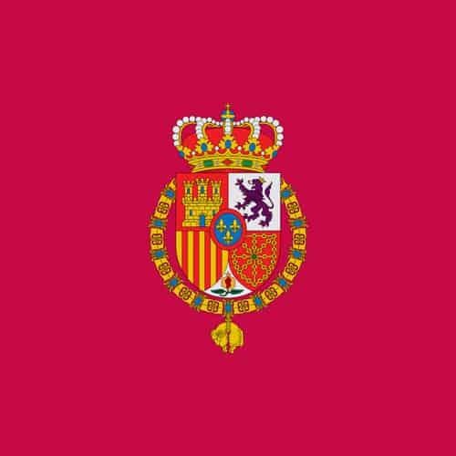 Estandarte del Rey de España