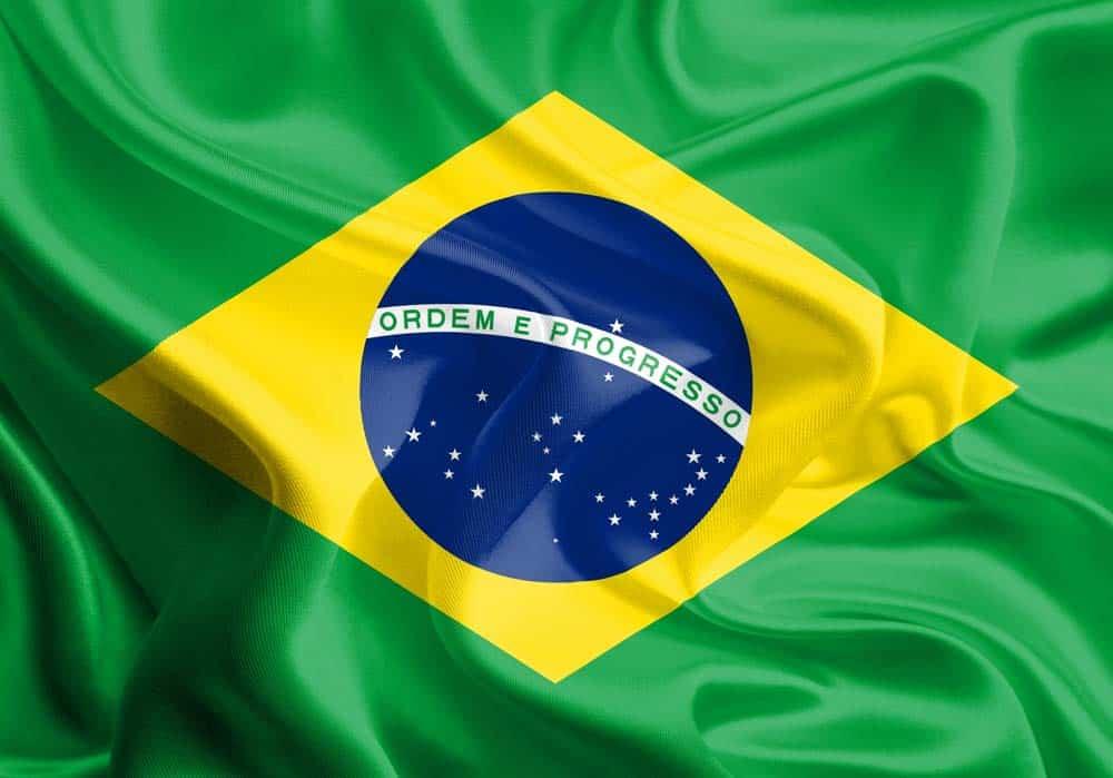 imagen de la bandera de brasil