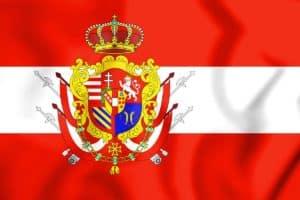 Bandera el Gran Ducado de Toscana