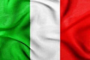 imagen de la bandera de italia