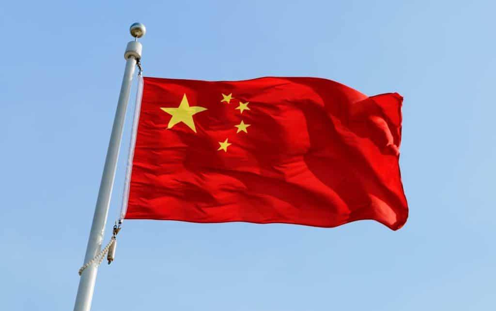 bandera actual de china