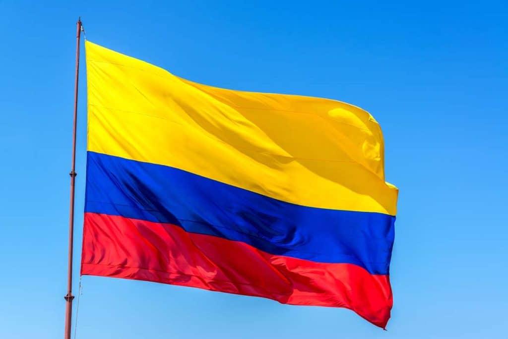 bandera de colombia actual