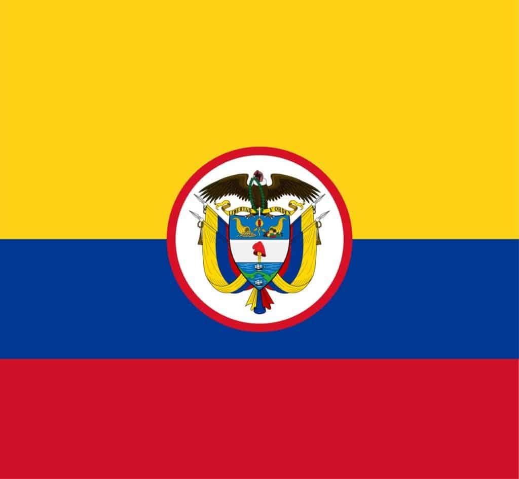 bandera de guerra de colombia