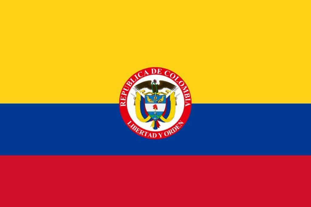 bandera presidencial de colombia