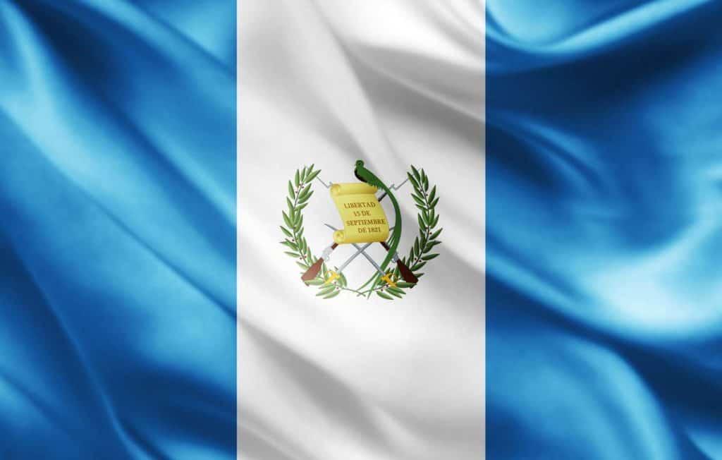 bandera actual de guatemala