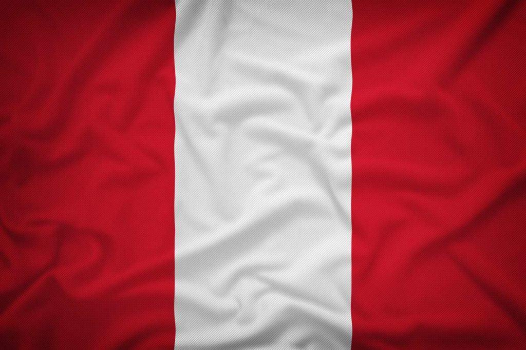 bandera actual de peru
