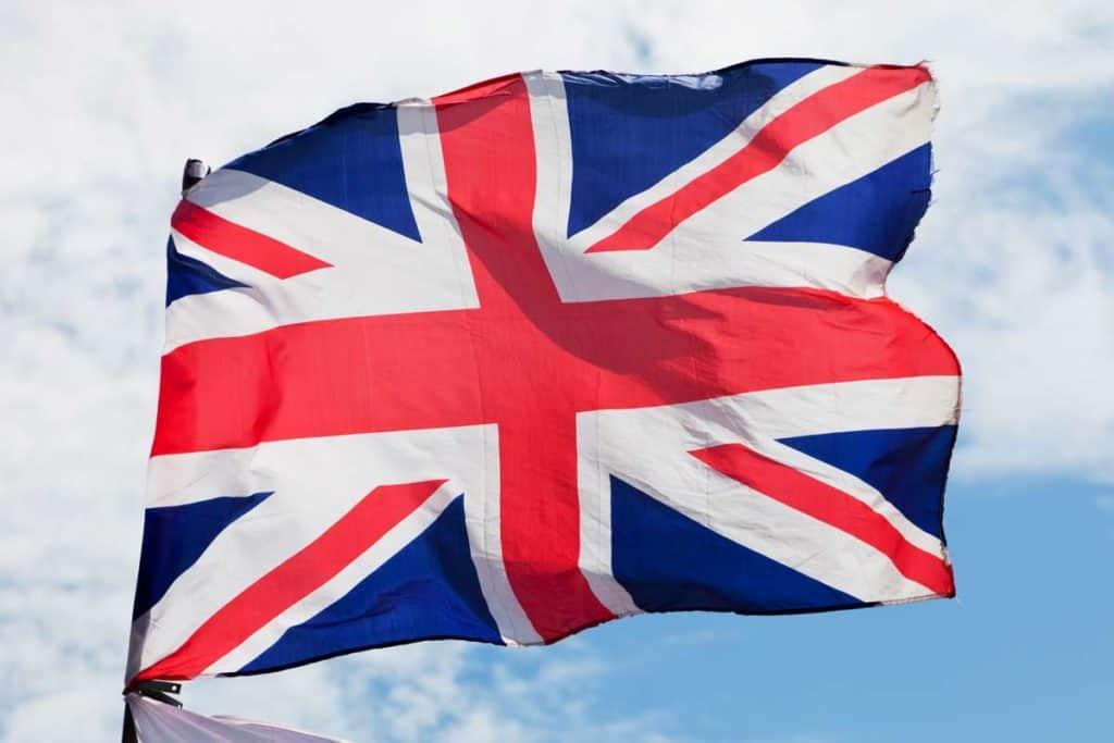 bandera actual de reino unido