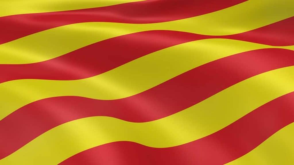 bandera catalana oficial