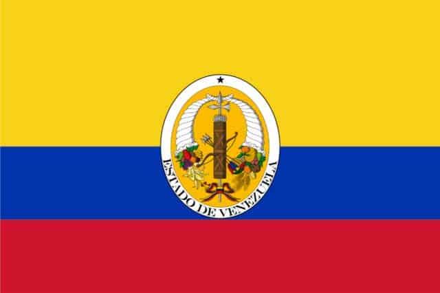 bandera de venezuela 1830