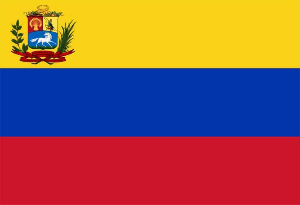 bandera de venezuela 1836-1859