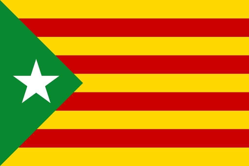 bandera estelada verda