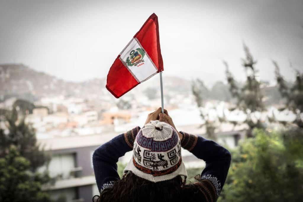 bandera peruana