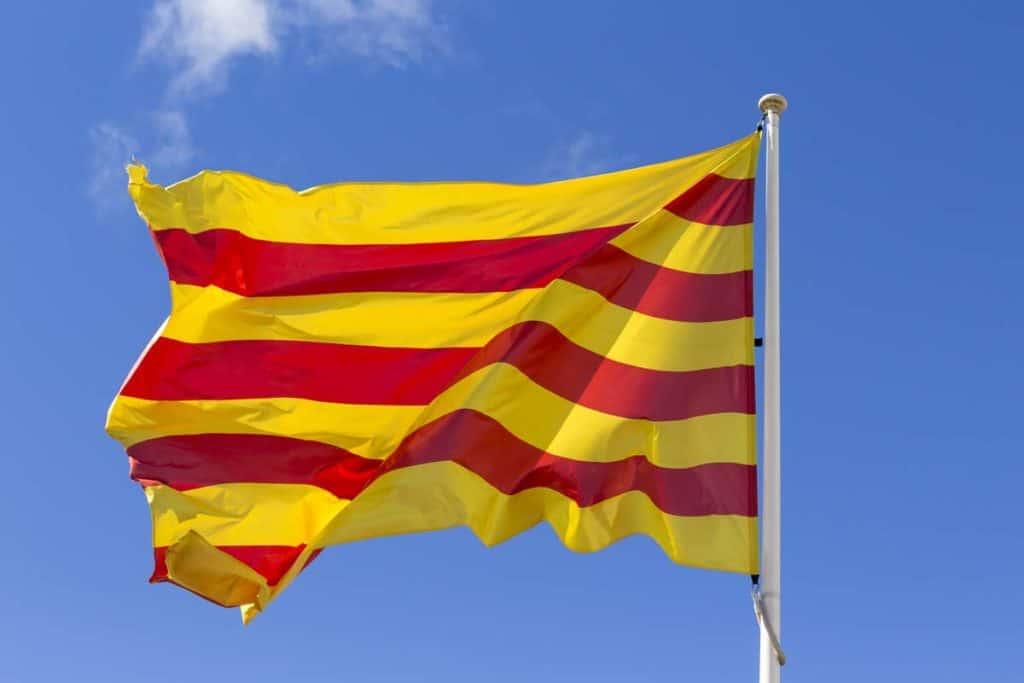 imagen de bandera catalana