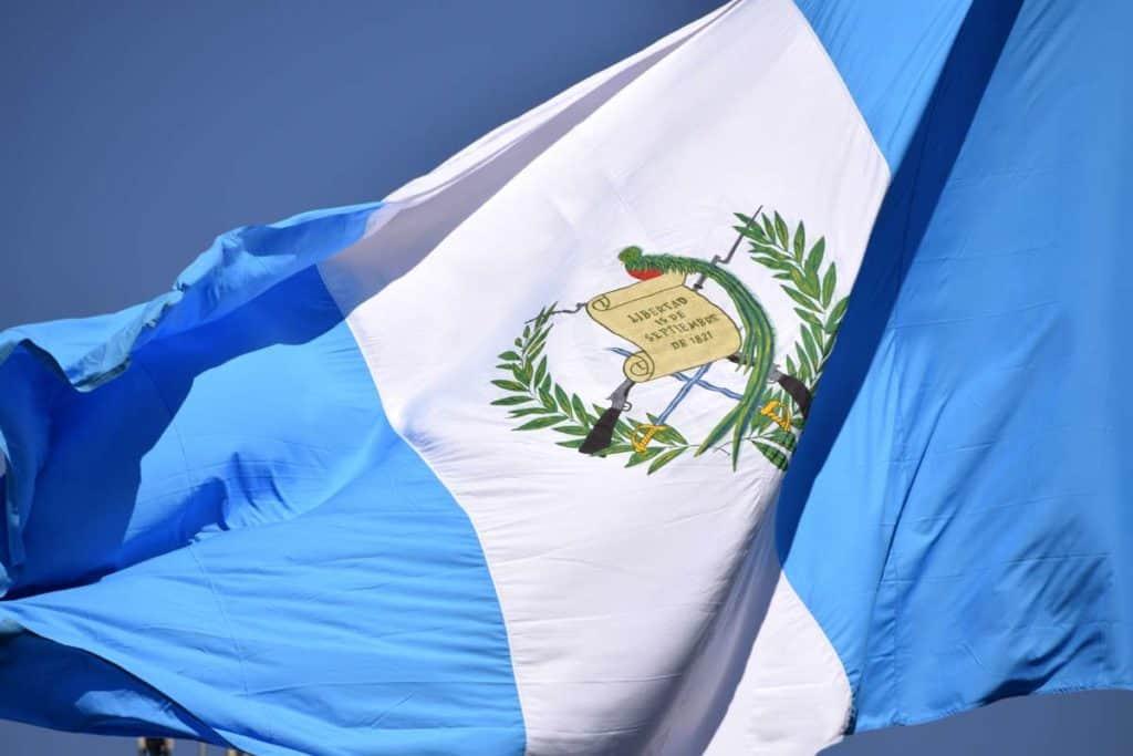 imagen de la bandera de guatemala