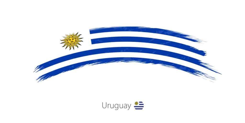 imagen de la bandera de uruguay