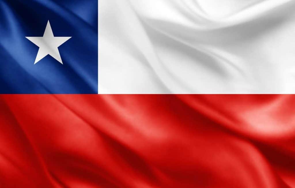 bandera de chile actual