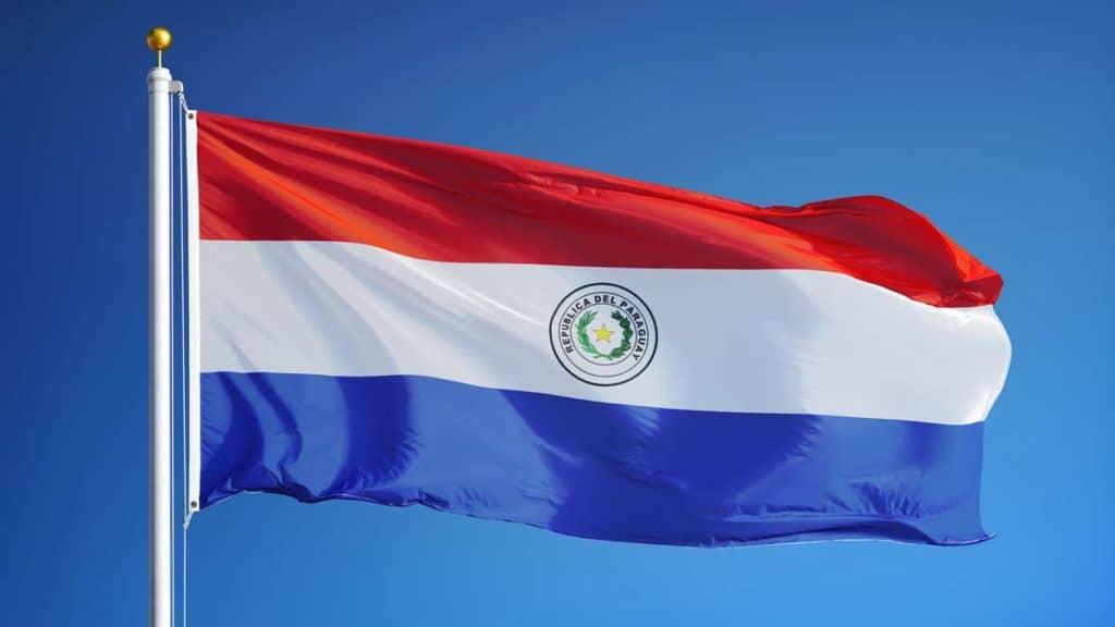 bandera actual de paraguay