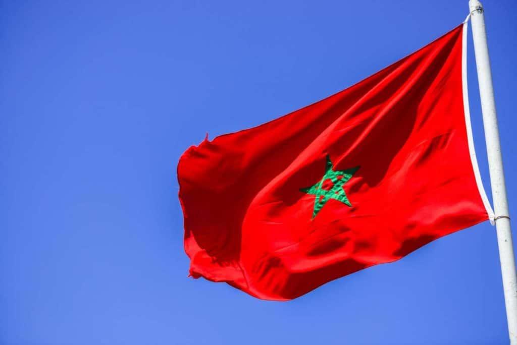 bandera de marruecos actual