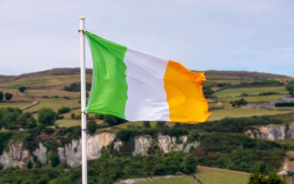 bandera irlandesa actual