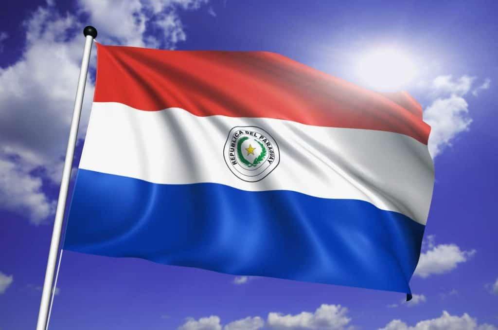 imagen de la bandera de paraguay