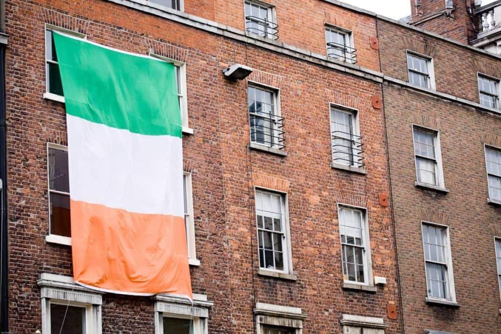 significado bandera de irlanda