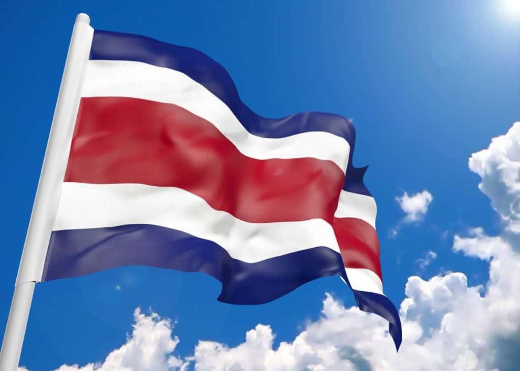 bandera actual de costa rica
