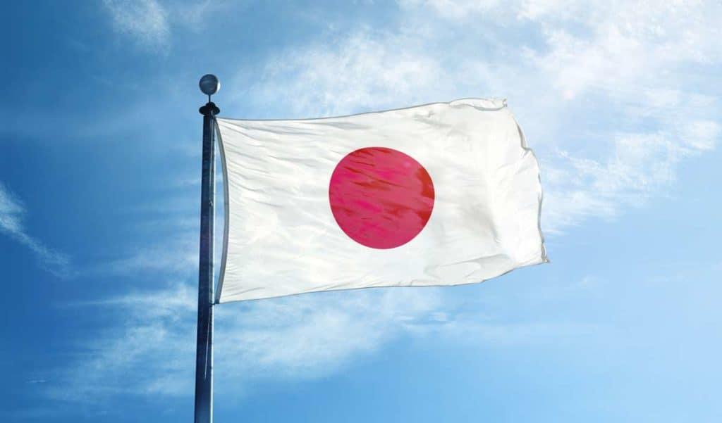 bandera actual de japon