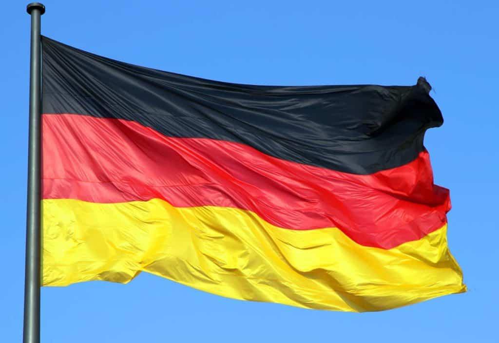 bandera de alemania actual