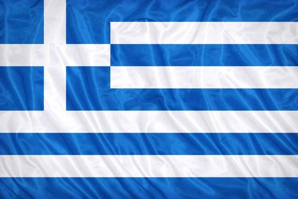 bandera de grecia actual