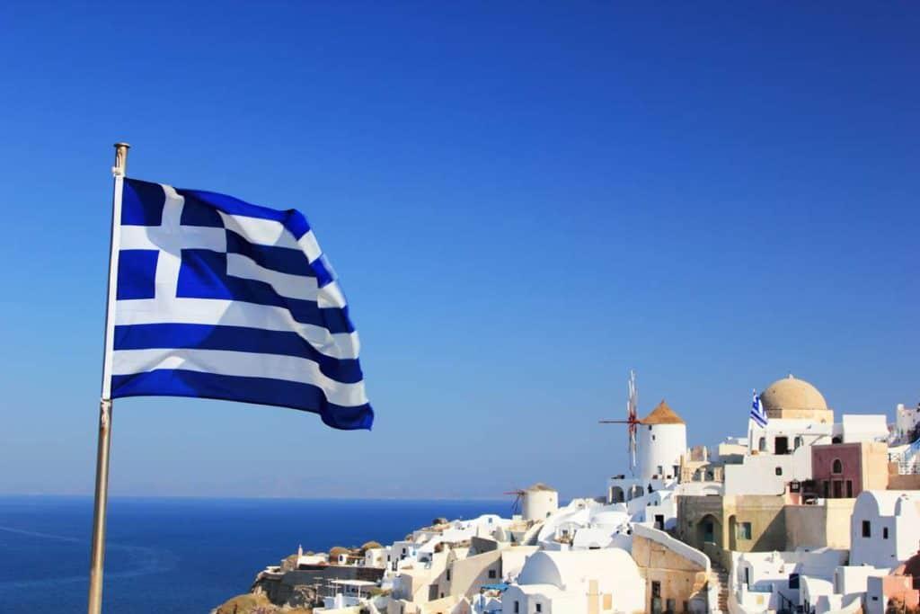 bandera de grecia significado