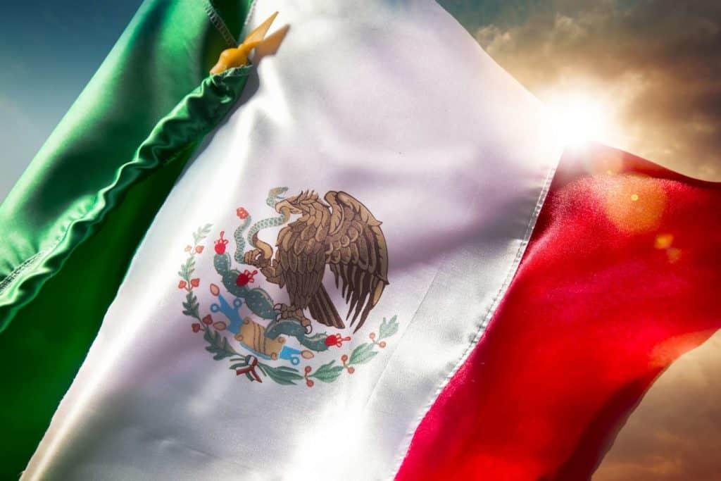 bandera de mexico hd