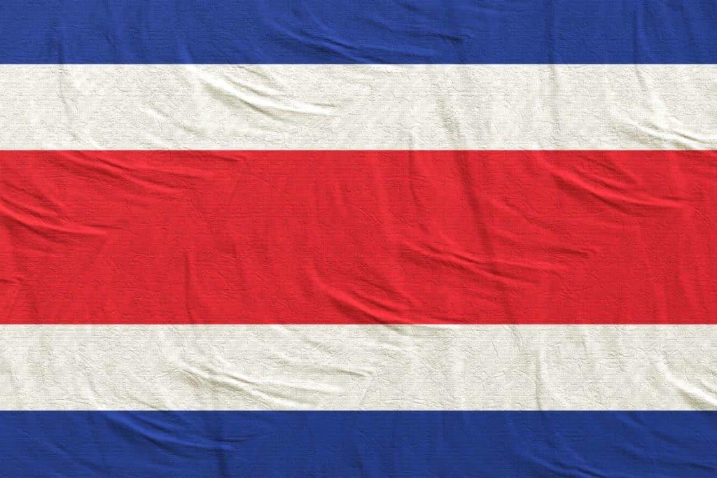 imagen bandera de costa rica