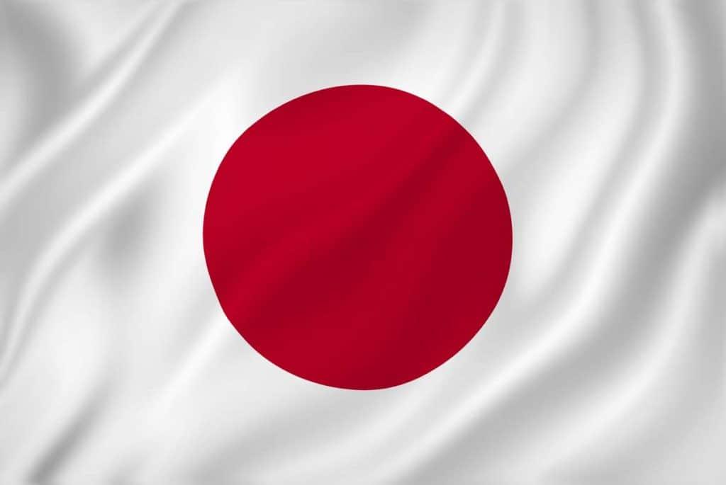imagen de bandera de japon