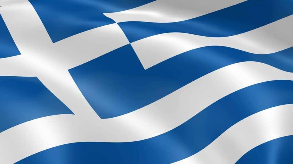 imagen de la bandera de grecia