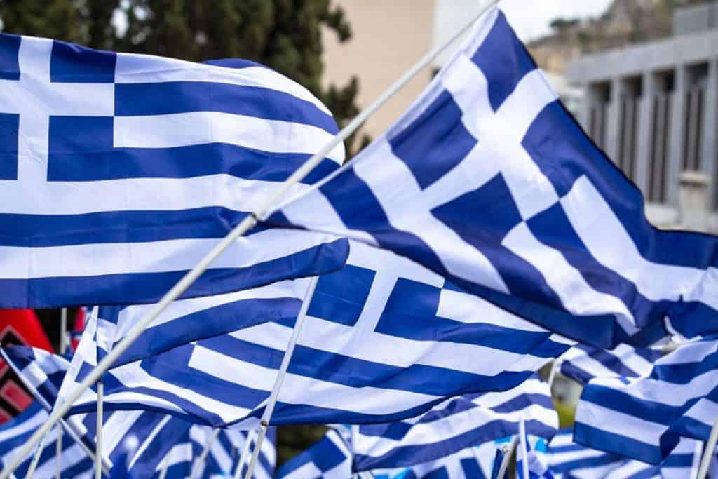 imagenes bandera de grecia