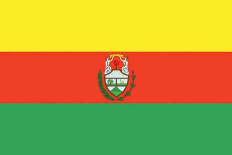 Segunda Bandera de Bolivia