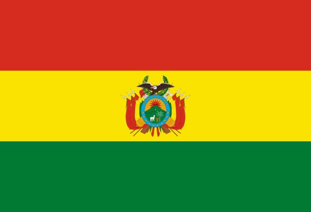 tercera bandera de bolivia