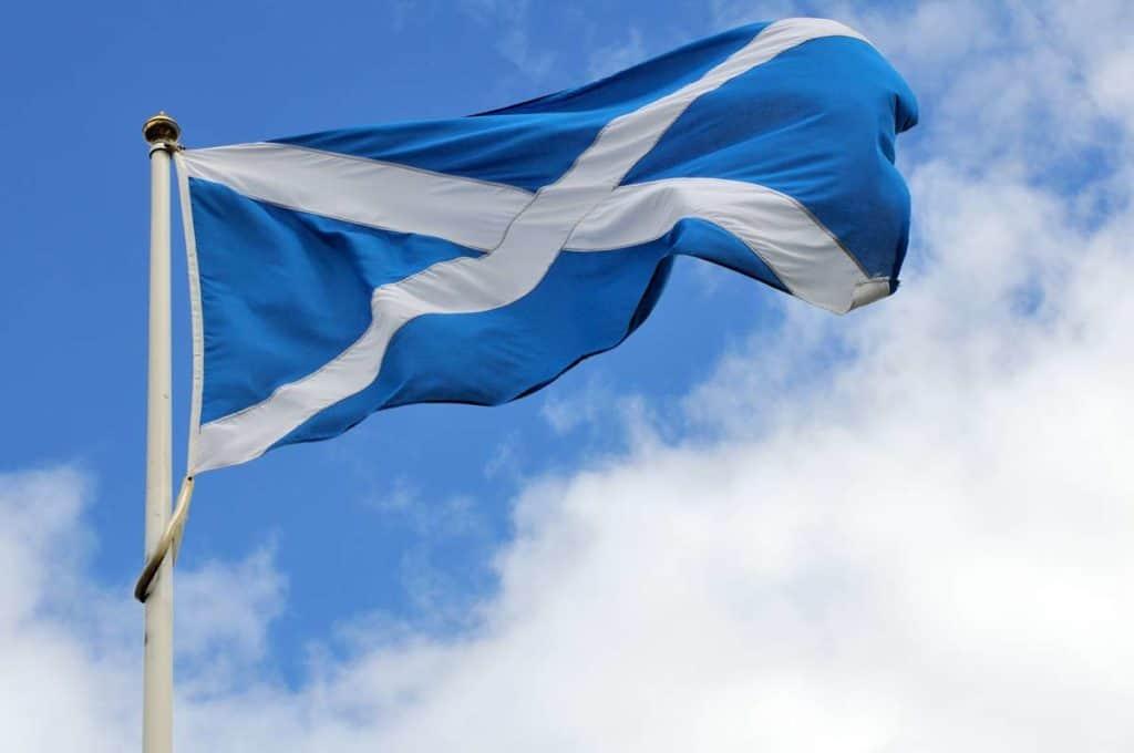 Bandera de Escocia significado