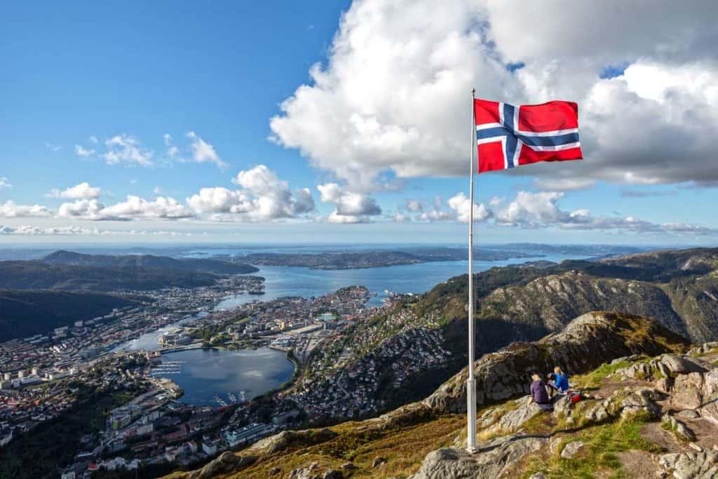 bandera de noruega historia