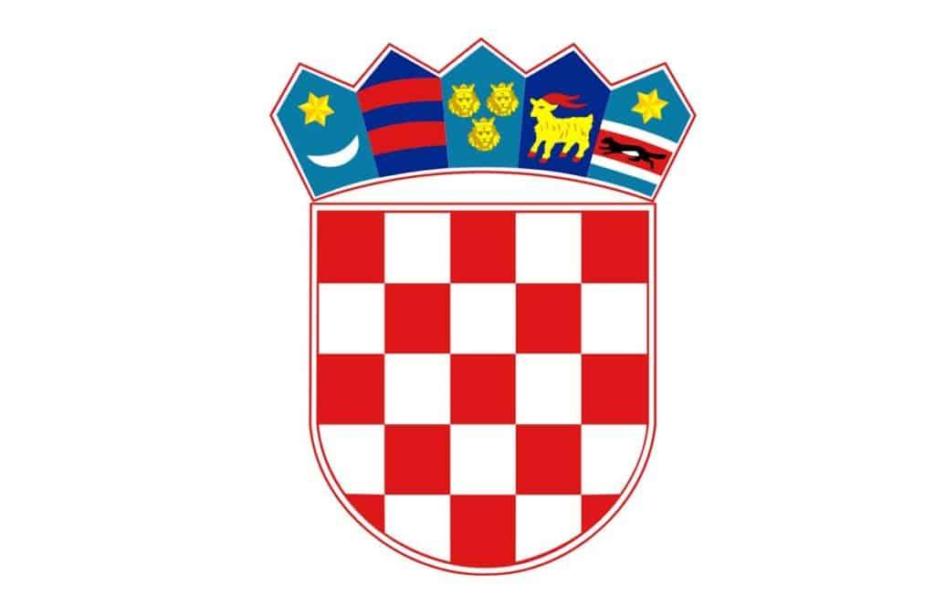 escudo de la bandera de croacia