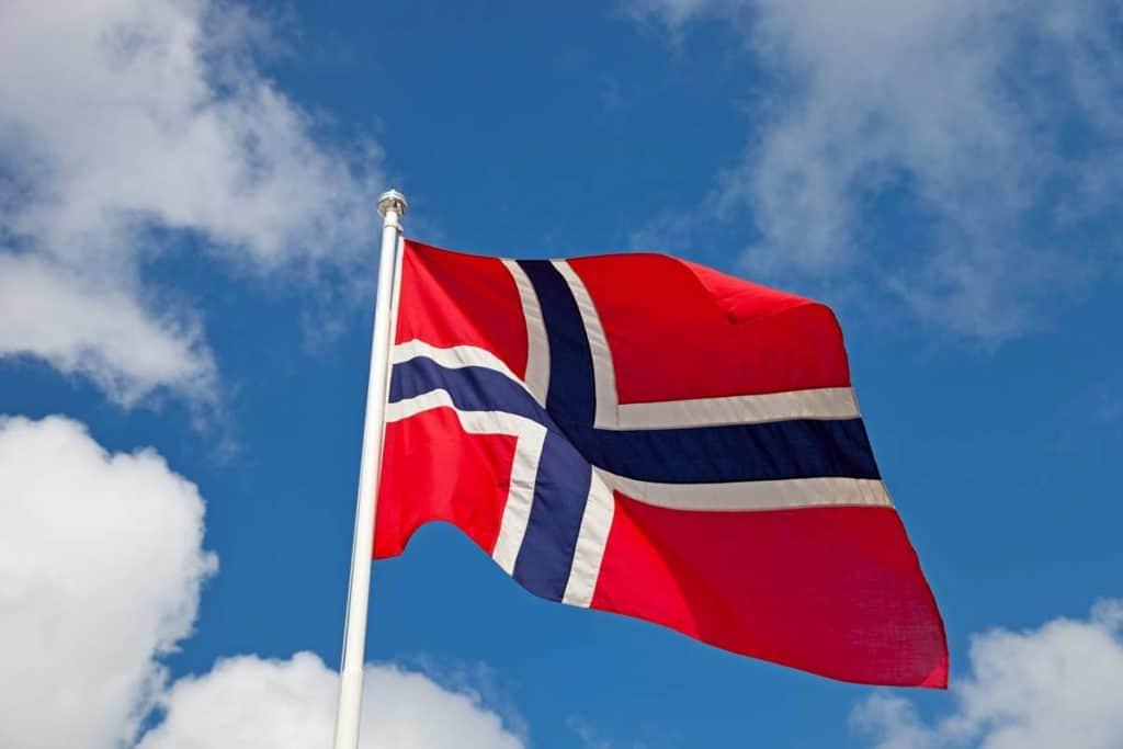 significdo bandera de noruega