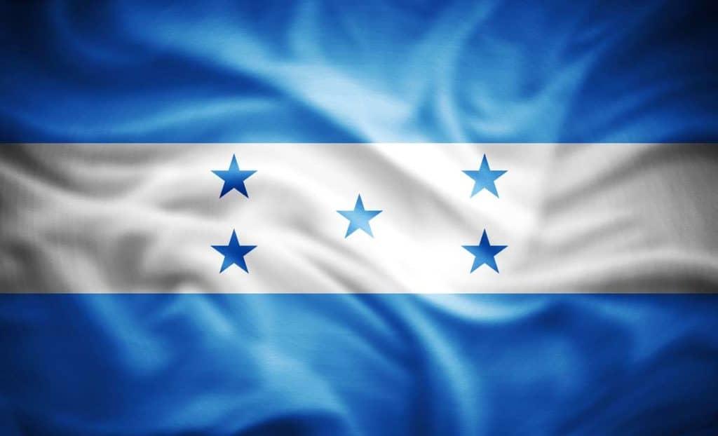 imagen bandera de honduras