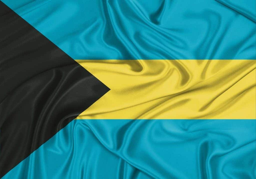 bandera de bahamas imagen