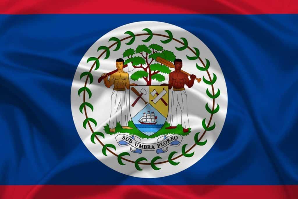 bandera de belice actual