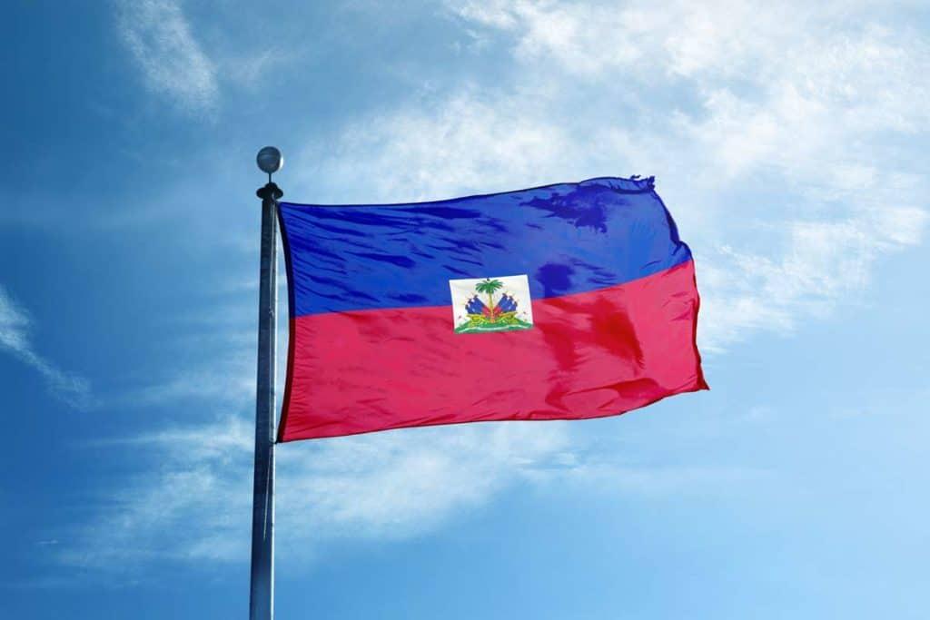 bandera de haiti actual
