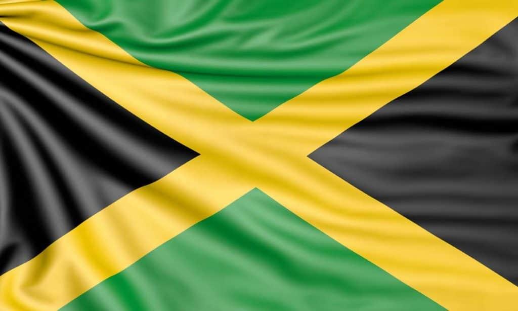 bandera de jamaica colores