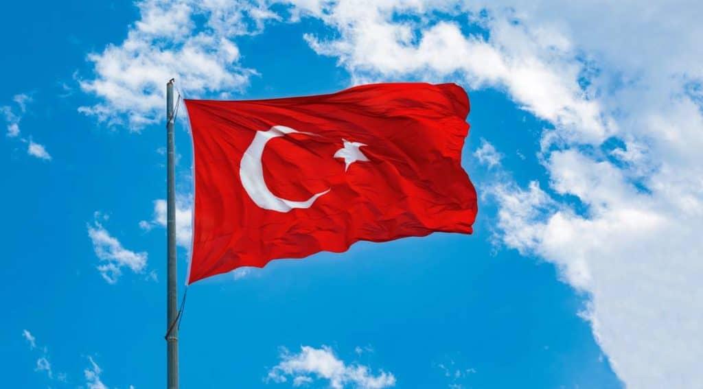 bandera de turquia actual