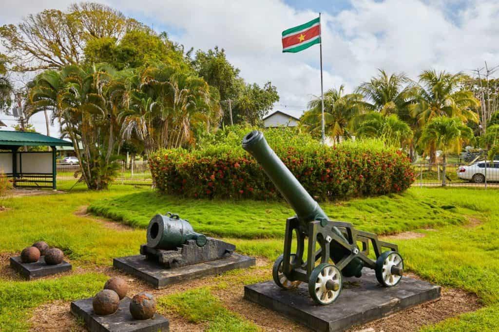bandera surinames